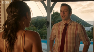 Death in Paradise Neville and Florence final scene season 10