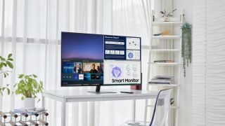 Samsung's new 43-inch Smart Monitor is a 4K TV without a tuner