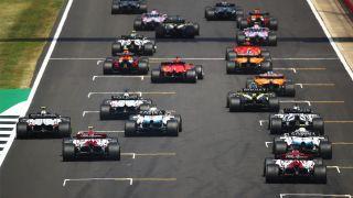F1 in Silverstone, wo das erste F1 Sprint Qualifying stattfand