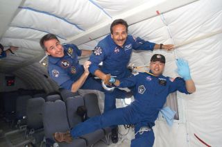 Space Multitasking: A Look at Two STS-114 Mission Specialists