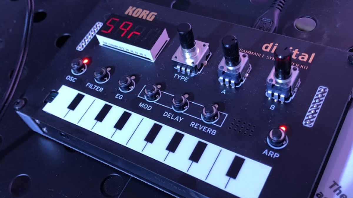 Superbooth 2019: Korg's super-cute Nu:Tekt synthesizer is one that you can build yourself