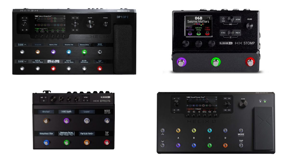 Line 6 Helix adds new amp and five effects with 3.10 firmware update