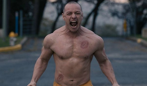 james mcavoy screaming glass