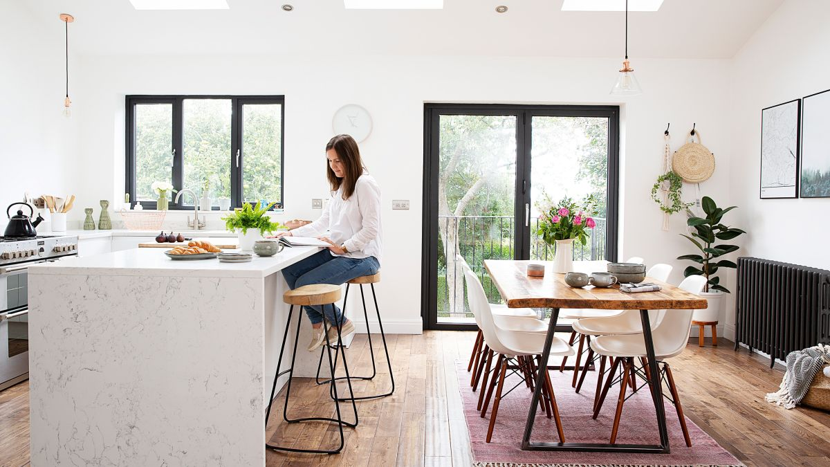 Styling A Kitchen Island With Seating 13 Stunning Looks To Try Real Homes