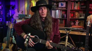 Justin Johnson is giving away three guitars