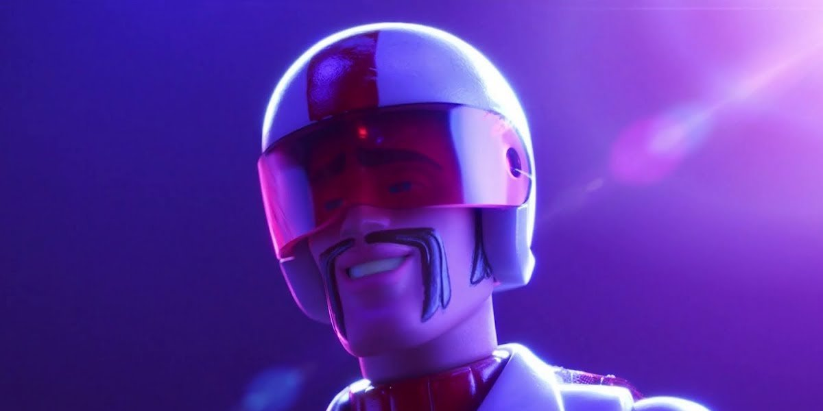 Keanu Reeves voices Duke Caboom in Toy Story