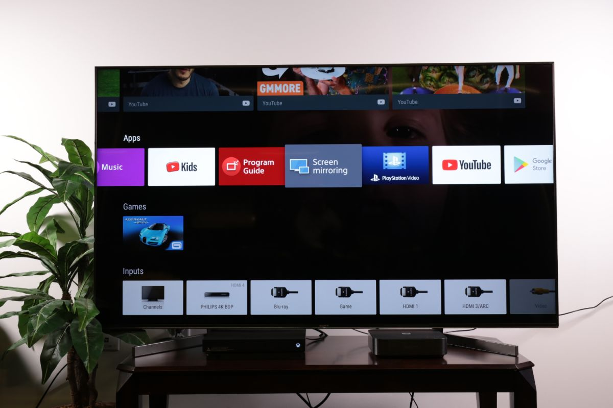 How to set up screen mirroring to your Sony TV from a smartphone