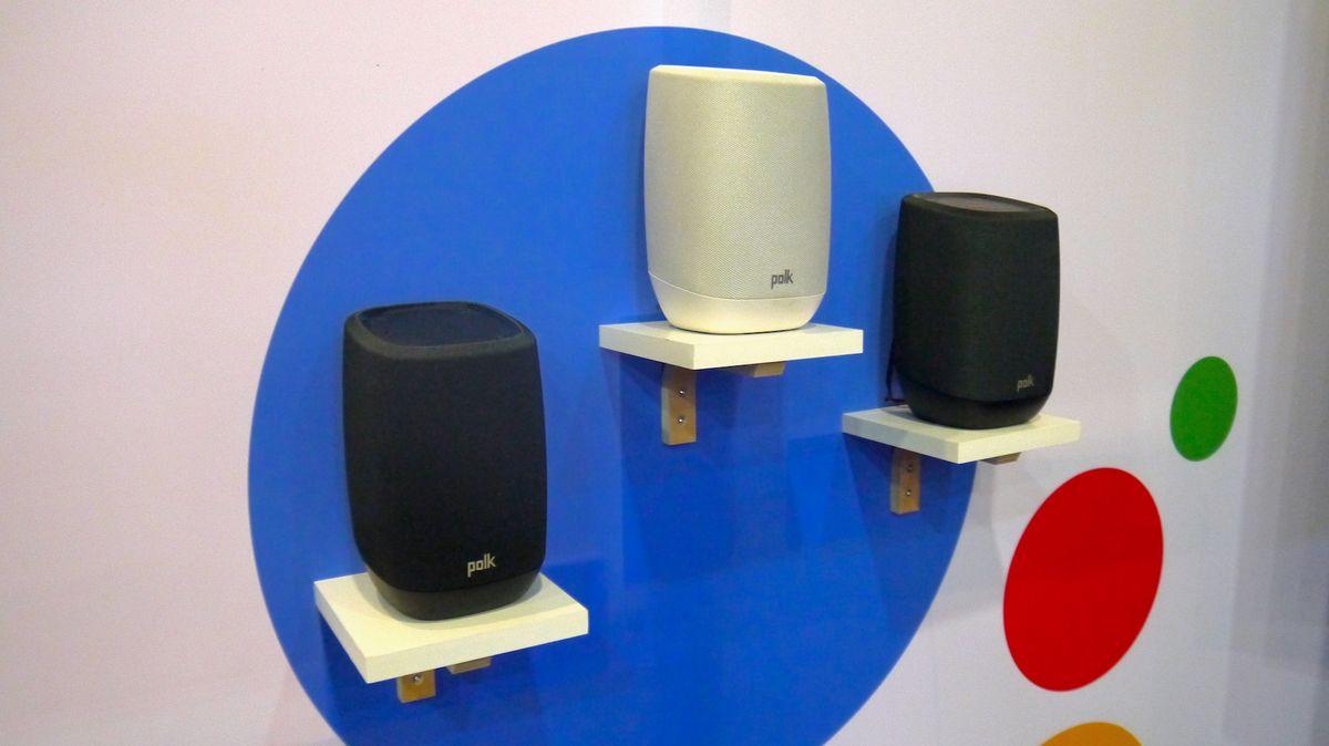 First look: Polk Assist Google Assistant speaker