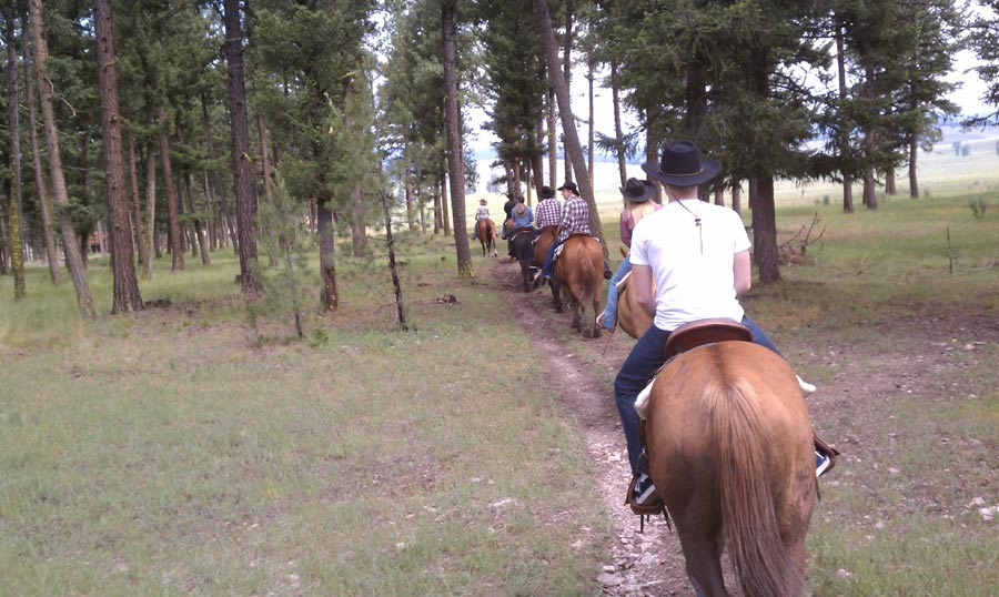 Horses, Shotguns And Scotch: My Time In Montana With Cowboys & Aliens #4965