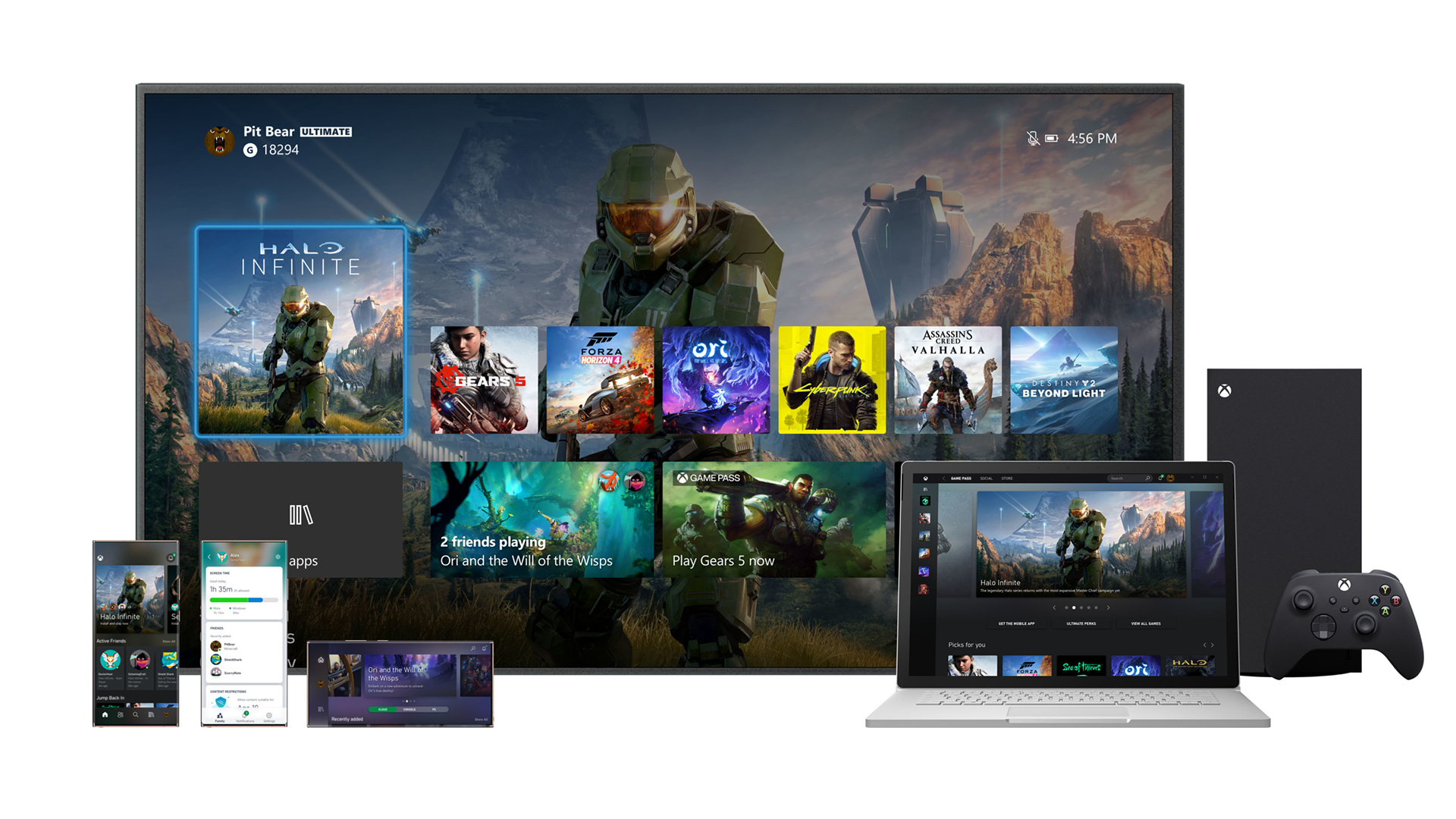 Xbox Series X Ui Revealed And There S More To It Than Meets The Eye Creative Bloq