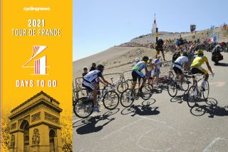 The Mont Ventoux features on day 4 of the Tour de France countdown