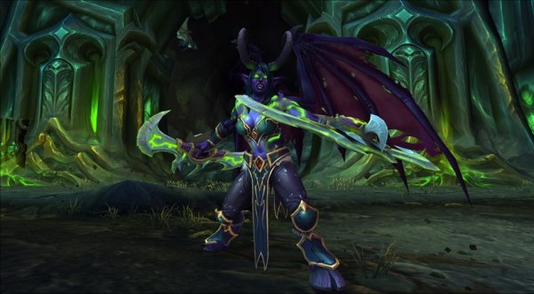 wow demon hunter early access