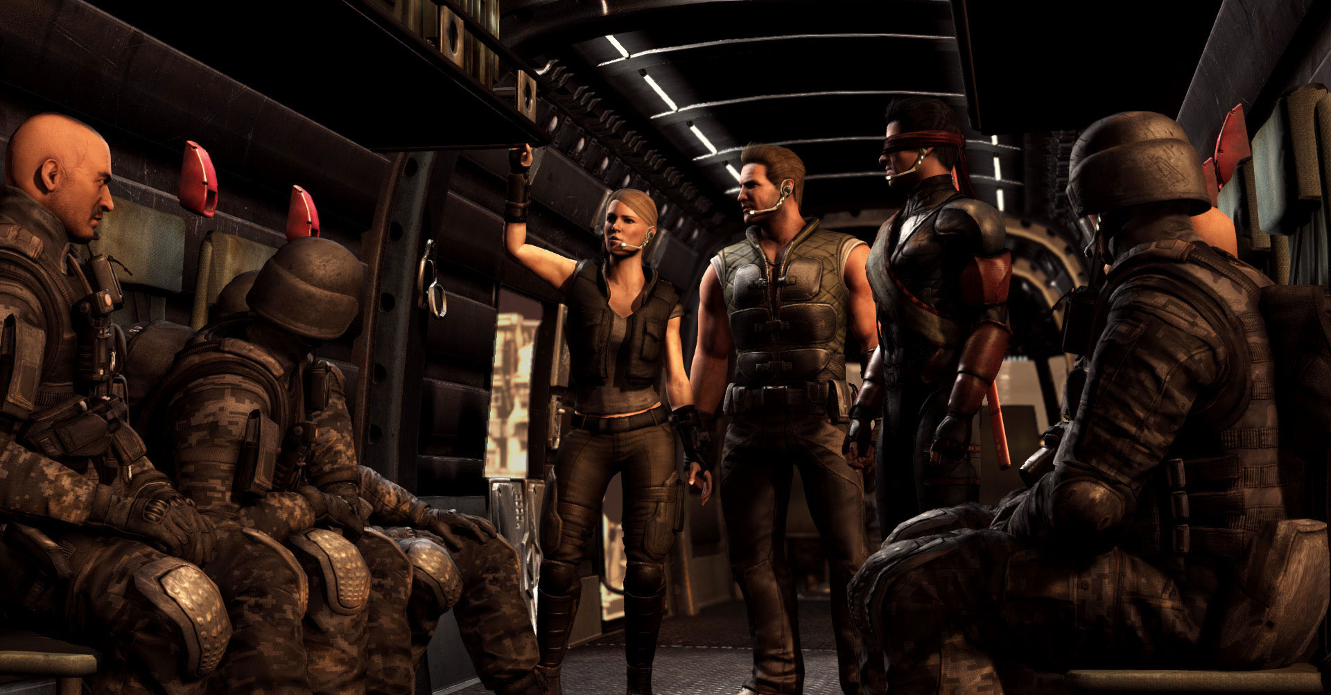 Mortal Kombat X Johnny Cage And Sonya Blade Trailer Sneaks In A Third Character Reveal #32631