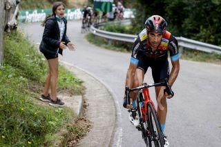 Vuelta Espana 2021 - 76th Edition - 17th stage Unquera - Lagos de Covadonga 185,8 km - 01/09/2021 - Mikel Landa (ESP - Bahrain Victorious) - photo Luis Angel Gomez/BettiniPhoto©2021