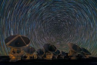 Alma Star Trails ESO