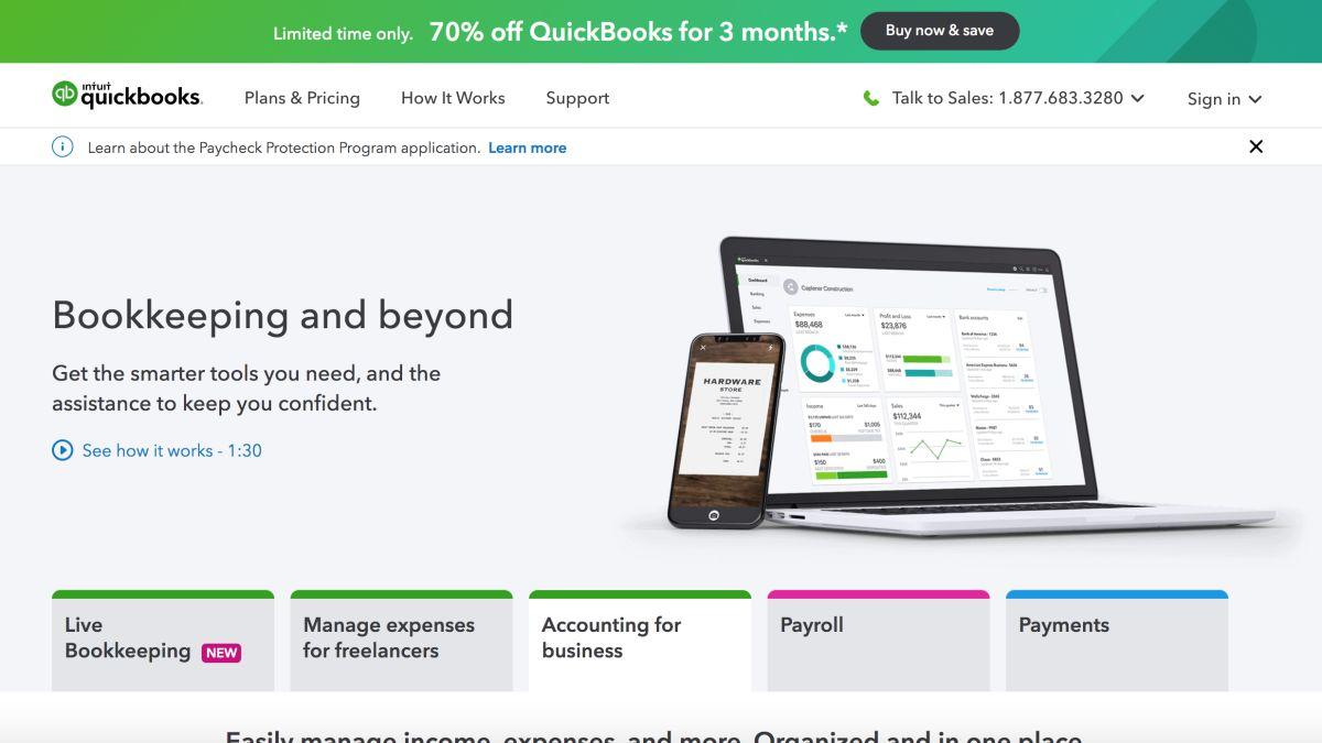 QuickBooks   TechRadar