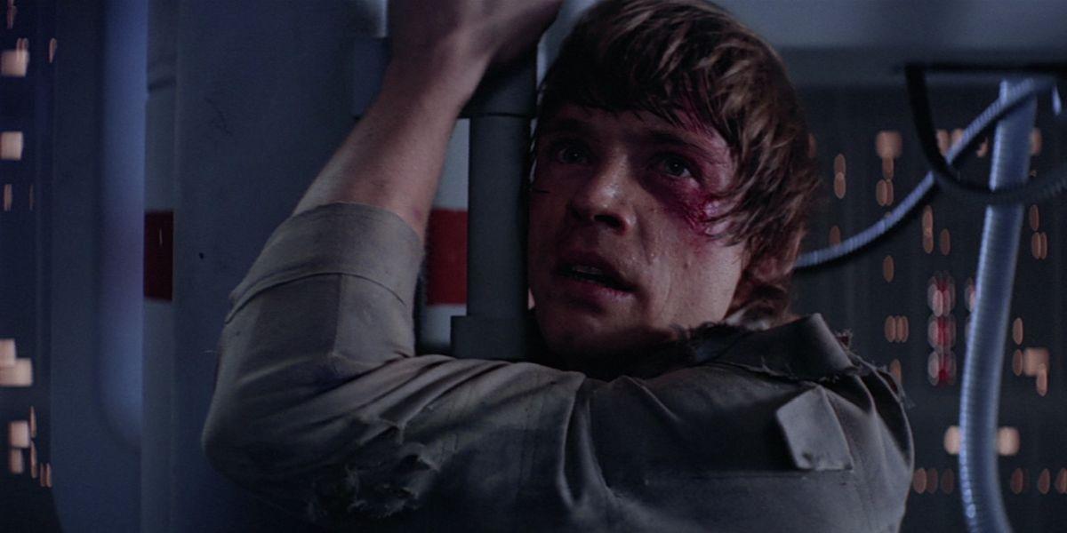 Luke Skywalker (Mark Hamill) hangs around in The Empire Strikes Back (1980)