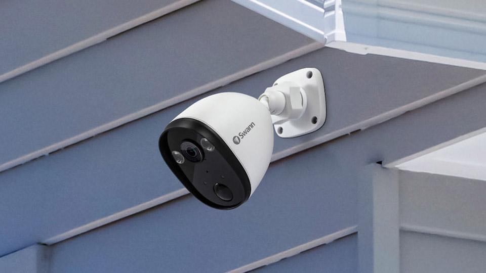 Swann Spotlight Outdoor Security Camera Review Techradar