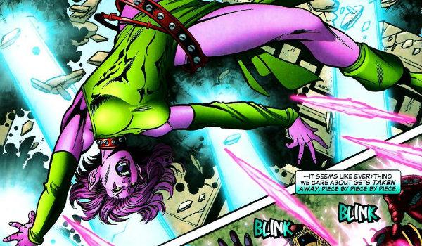 X Men Comics Blink