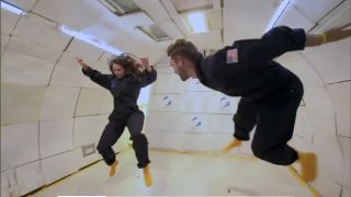 "ABC's ""The Bachelor"" took a weightless ride with Zero Gravity Corporation in Monday's episode."