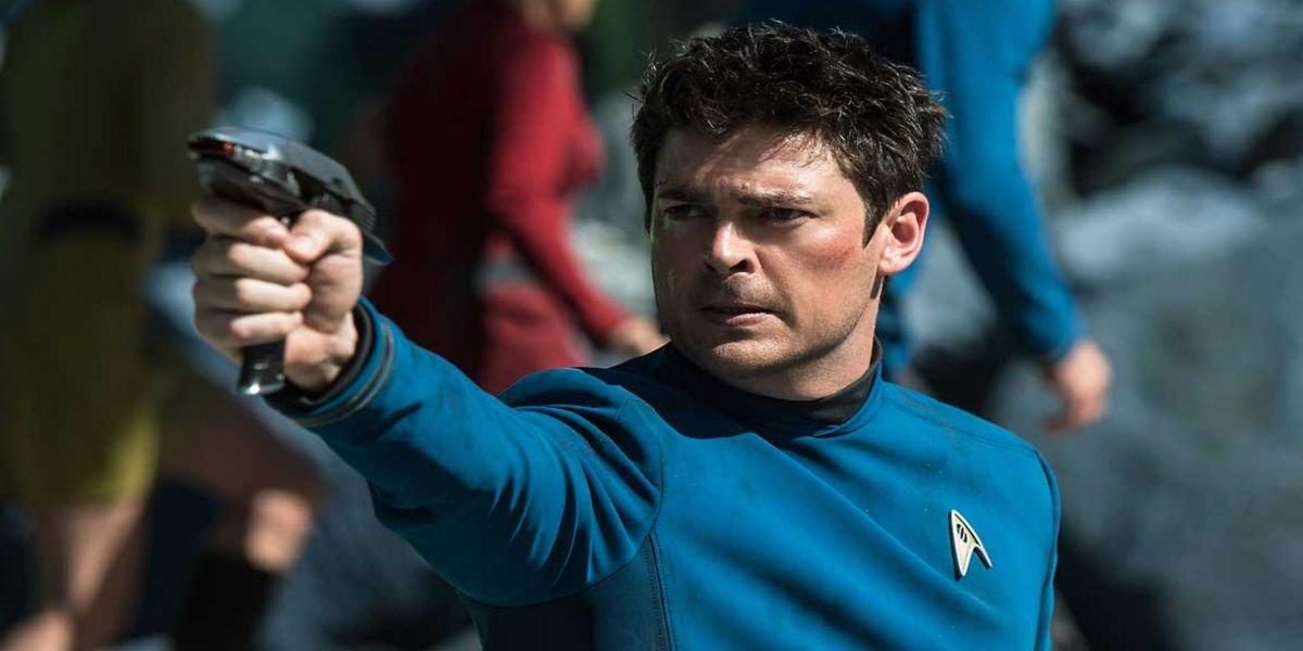 Karl Urban in Star Trek