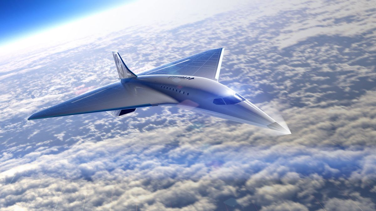 Virgin Galactic unveils Mach 3 design for supersonic passenger flights