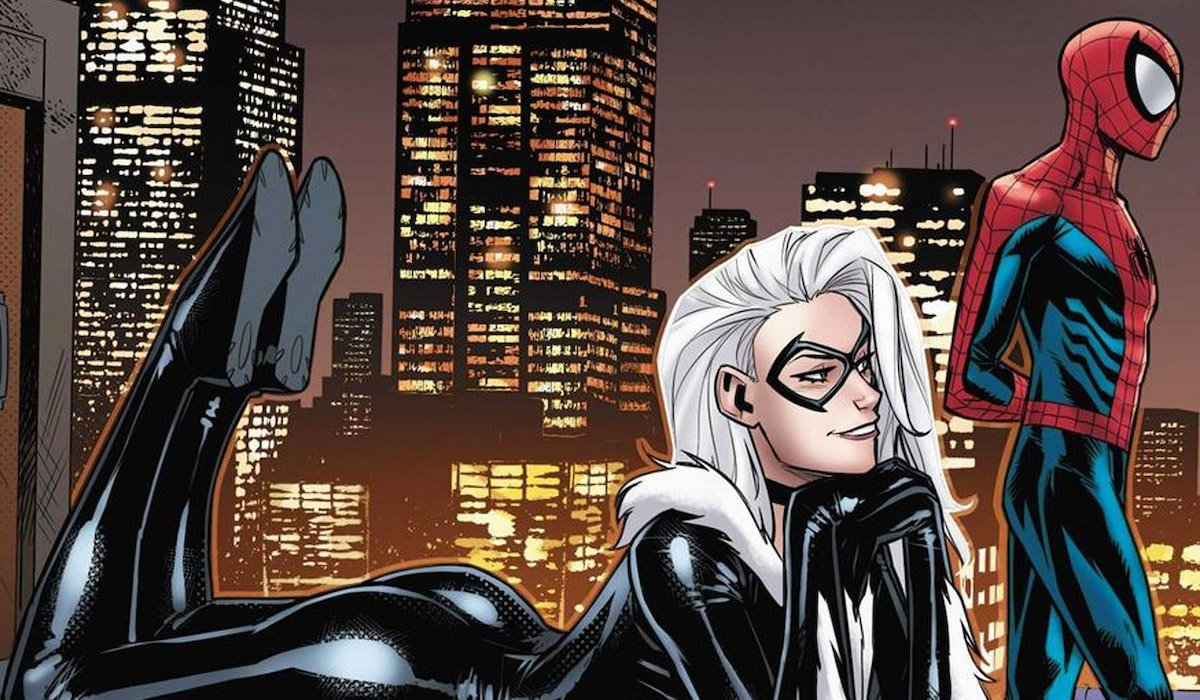 Black Cat and Spider-Man in the comic books