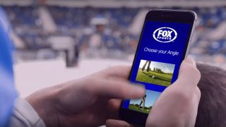 Fox Sport's mobile app at the US Open.