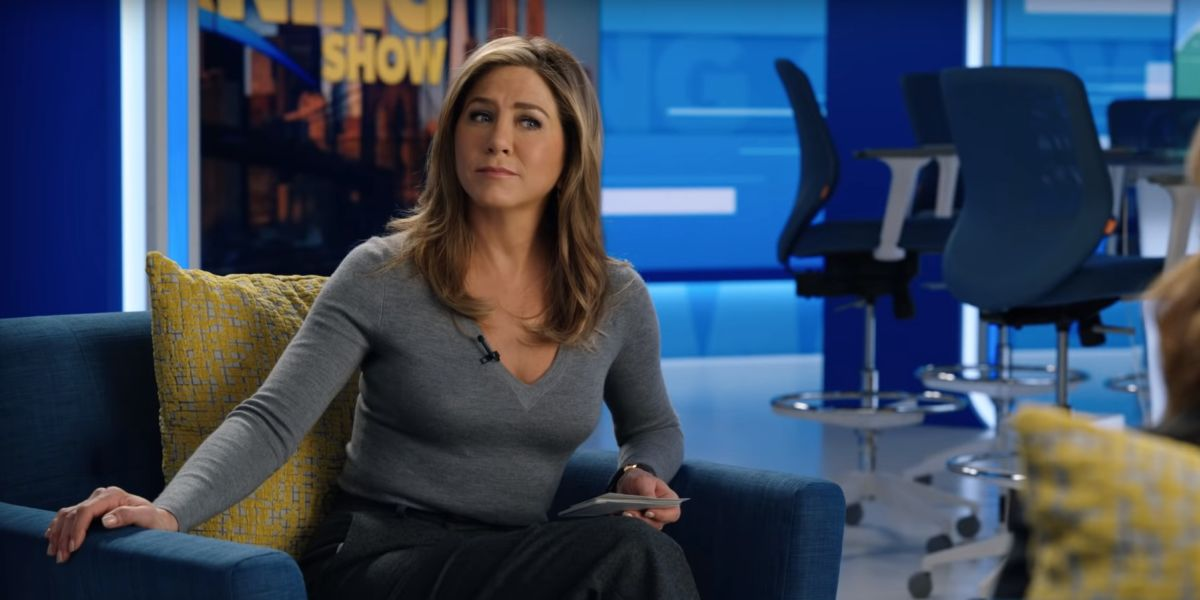 Jenifer Aniston on the morning show