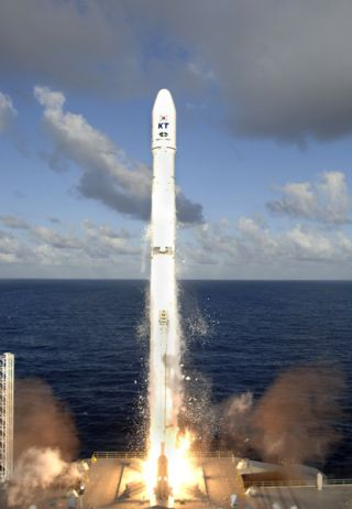 South Korean Satellite Launched to Serve Dual Purpose