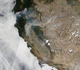 July 26, 2018 west coast fires