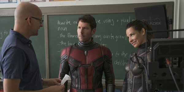 Peyton Reed Paul Rudd Evangeline Lilly Ant-Man & The Wasp