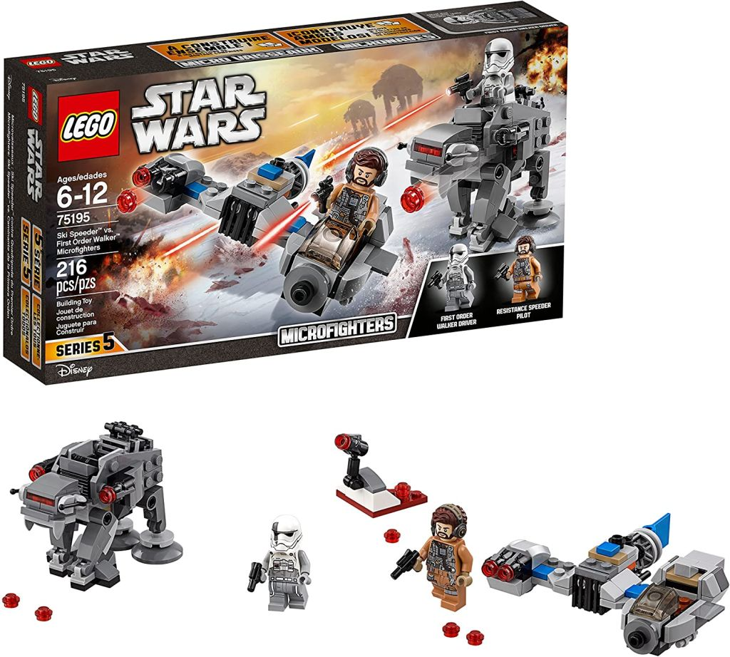 You can save $11 on this Lego Star Wars Jedi Ski Speeder Microfighters set for Prime Day
