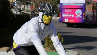 Should you wear a face mask when riding?