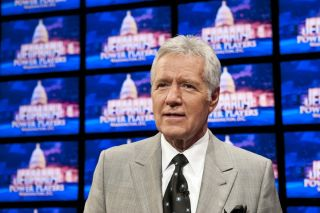 "Long-time ""Jeopardy!"" host Alex Trebek, shown here in 2012, announced he has stage 4 pancreatic cancer on March 6, 2019."