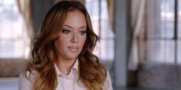 Leah Remini in an interview during Scientology and The Aftermanth's first season