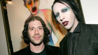 Wes Borland with Marilyn Manson in 2006