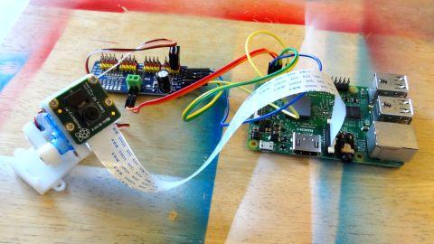Pan Tilt Platform for Raspberry Pi
