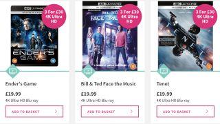 4K Blu-ray deal at HMV