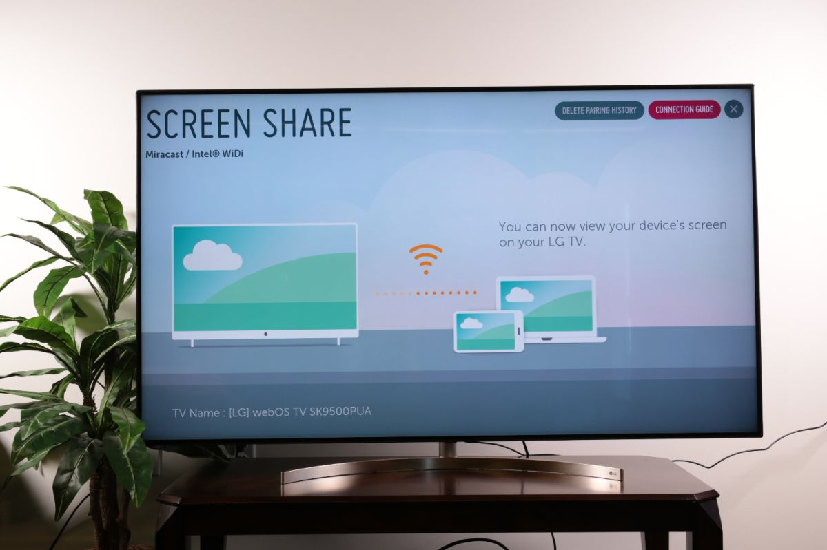 How to set up screen mirroring on your 2018 LG TV - LG TV Settings Guide:  What to Enable, Disable and Tweak | Tom's Guide