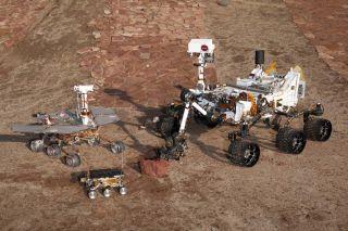 NASA's Past Rovers