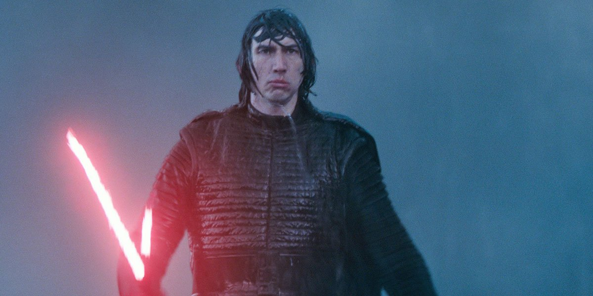Kylo Ren before his death in Star Wars: The Rise of Skywalker