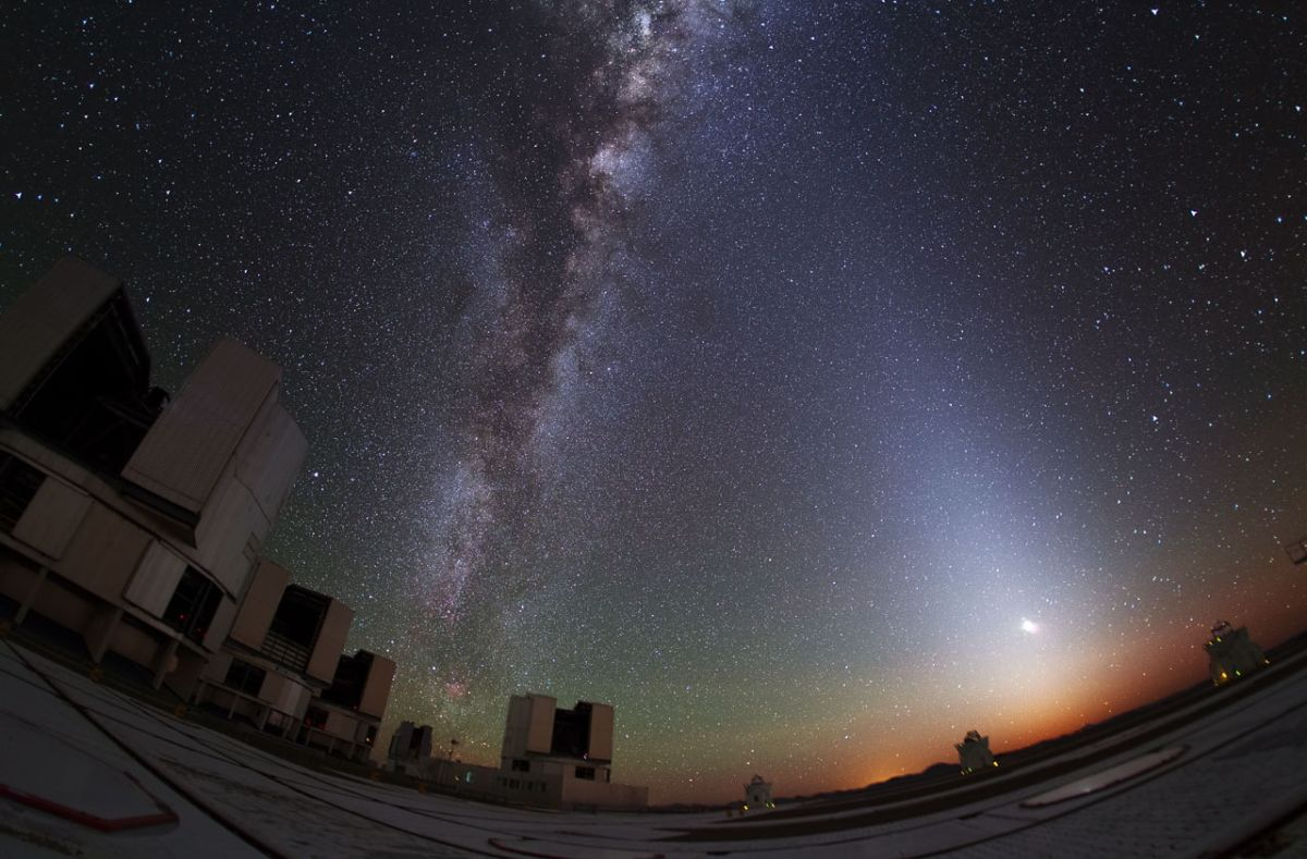 Zodiacal light: How to spot the rare celestial glow in the night sky