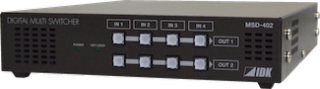 IDK to Show MSD-402 Switcher at InfoComm