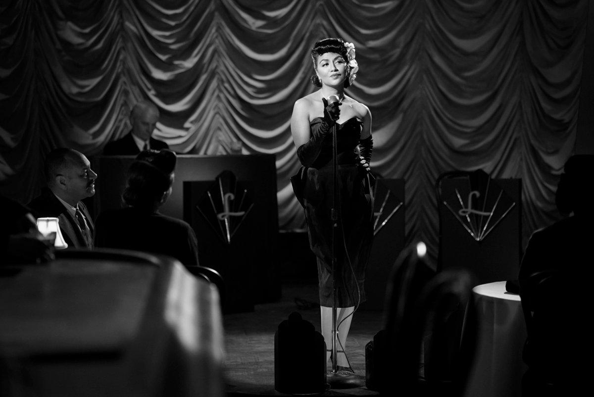 Legacies Season 2, Episode 14 The CW Karen David singing film noir