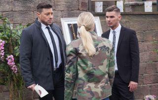 Hollyoaks spoilers: Leela exposes Ste and Ryan's secret affair at Amy's memorial!
