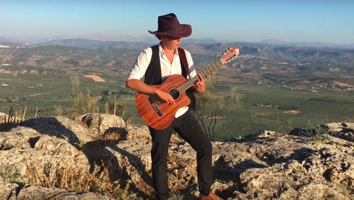 This fingerstyle version of Iron Maiden's Run to the Hills is a nylon-string beast of a cover