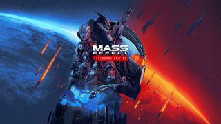 Mass Effect: Legendary Edition key art.