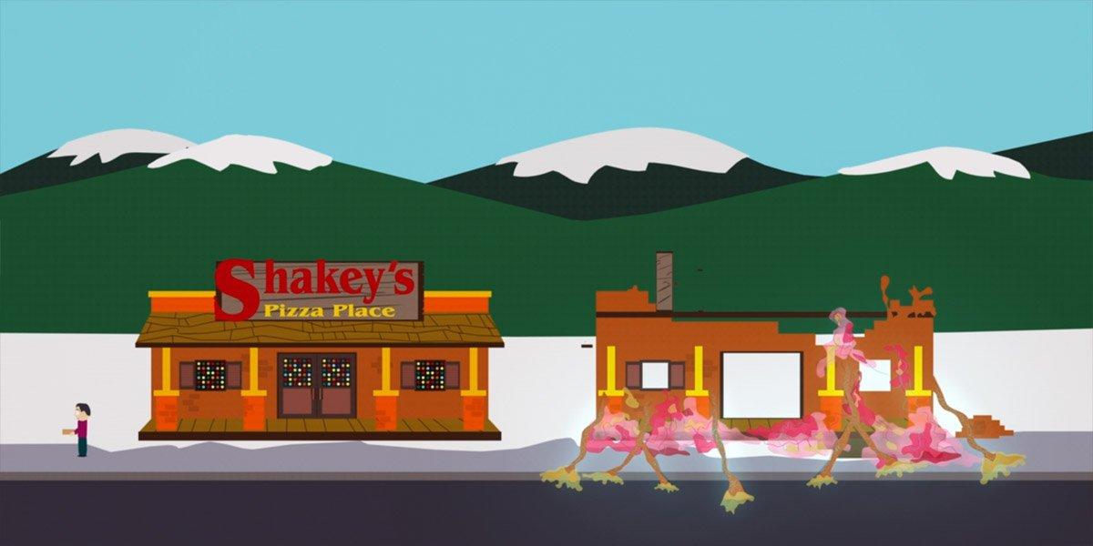 "South Park Fetuses build a Shakey's ""Kenny Dies"" (Season 5, Episode 13)"