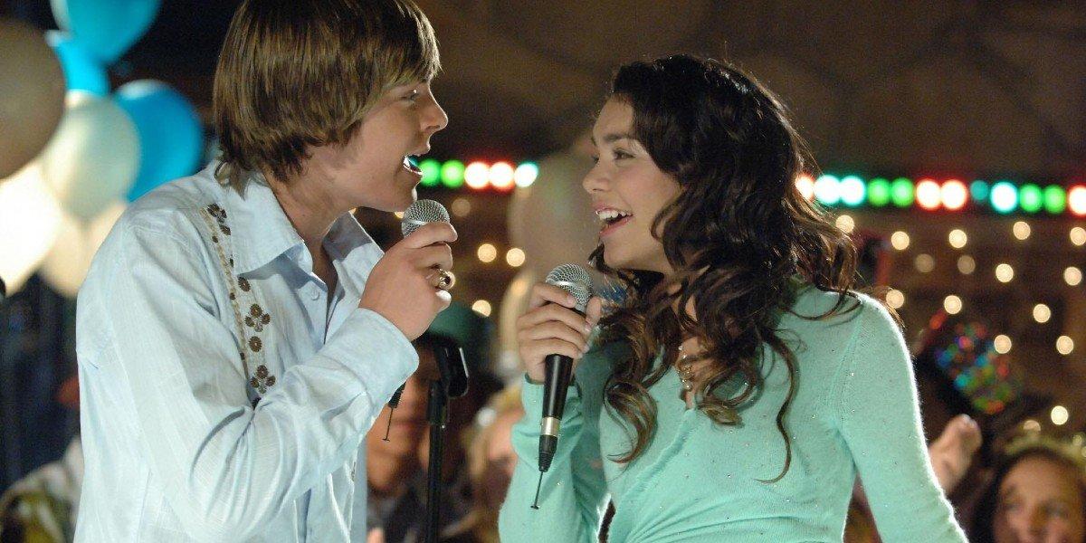 Zac Efron, Vanessa Hudgens - High School Musical